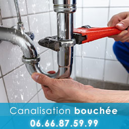 Canalisation bouchée Montpellier ☎ 06.66.87.59.99